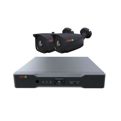 Aero HD 4-Channel 5MP 1TB Surveillance System with 2 Wired Cameras