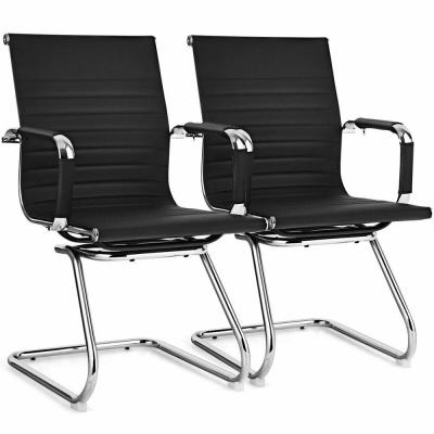Set of 2-Office Guest Chairs Waiting Room Chairs
