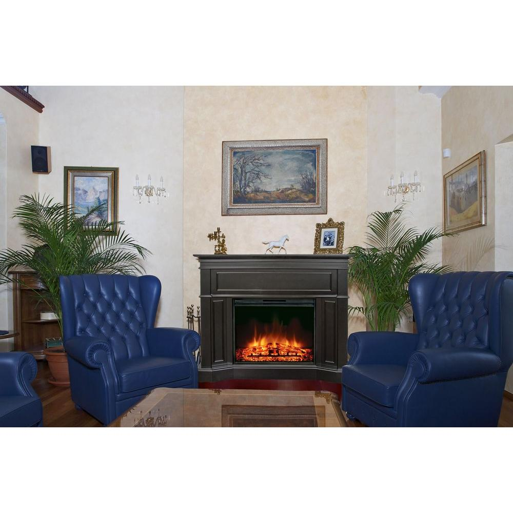 Muskoka Highfield 43 in. Electric Fireplace in Espresso