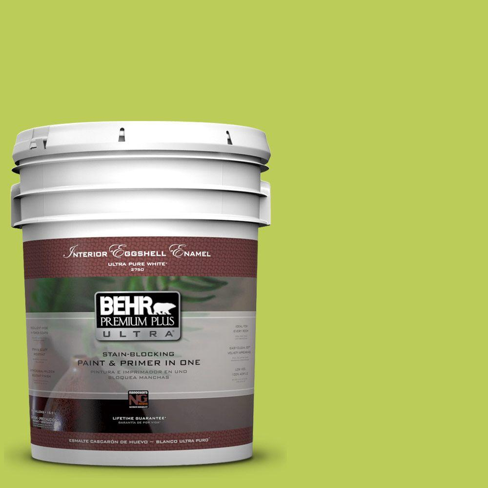 BEHR Premium Plus Ultra 5-gal. #410B-5 Hidden Meadow Eggshell Enamel Interior Paint