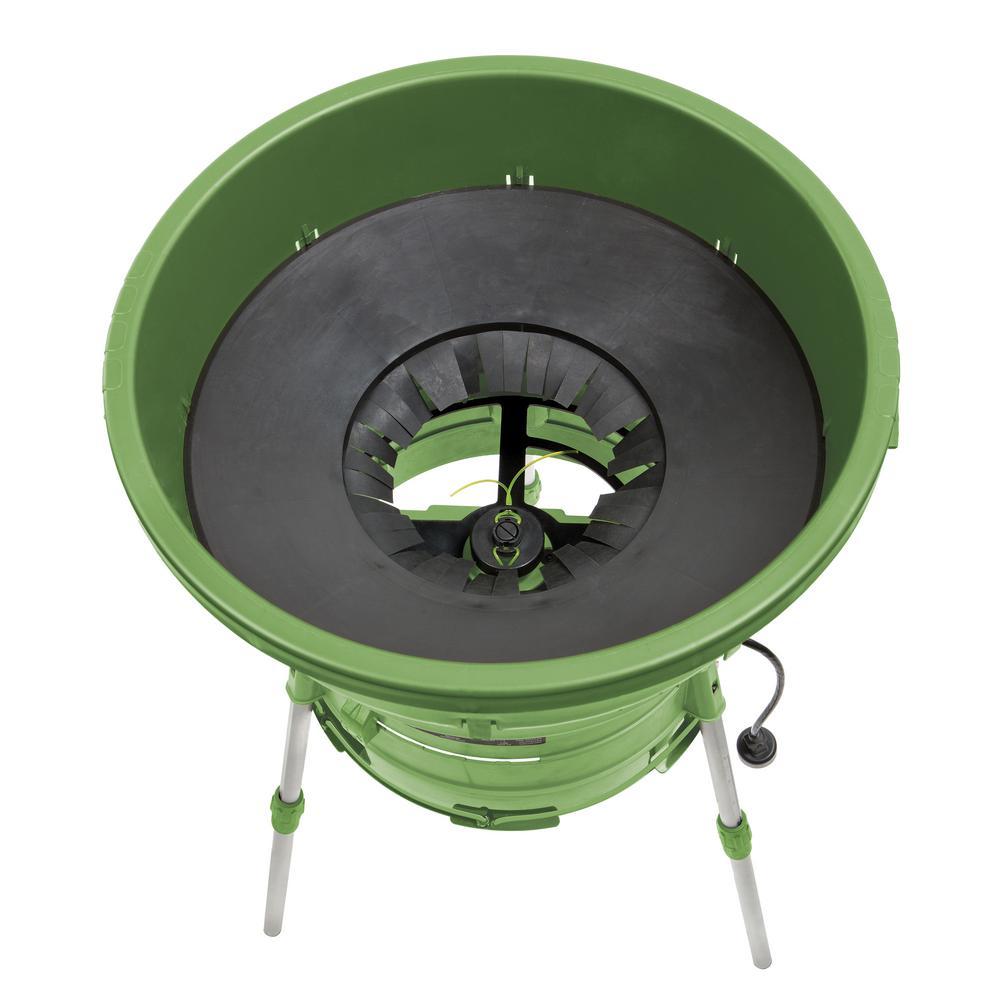 Martha Living 12 In 13 Amp 16 1 Reduction Ratio Adjule Intake Electric Mulcher And Leaf Shredder