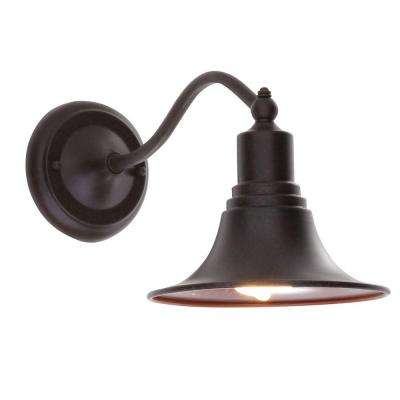 Dark Sky Kingston Collection Bronze Outdoor Wall-Mount Lantern