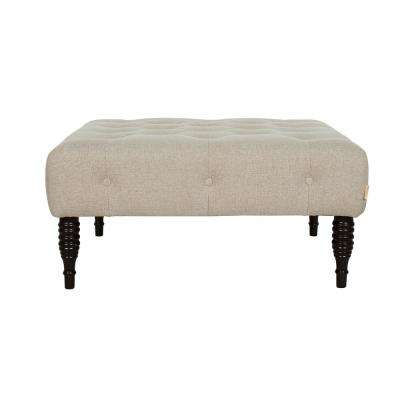 Hollis Taupe Entryway Bench