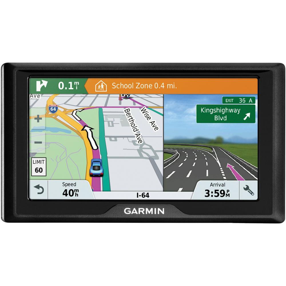 Garmin Drive 61 GPS Navigator with Driver Alert