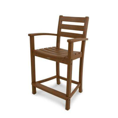 Monterey Bay Tree House Patio Counter Arm Chair