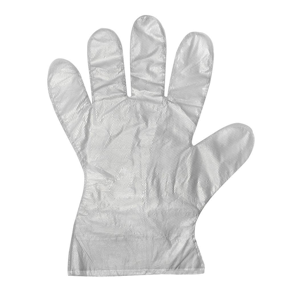 Safe Handler Long Cuff HDPE Multi-Purpose One Size Fits All Gloves (525-Count)