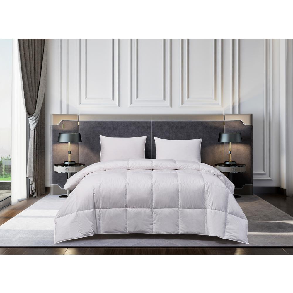 European Extra Warmth White King Down Comforter