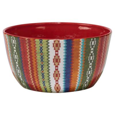 Monterrey 11 in. x 5.5 in. Multi-Colored Deep Bowl