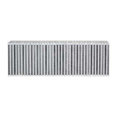 Vertical Flow Intercooler Core 24in. W x 8in. H x 3.5in. Thick