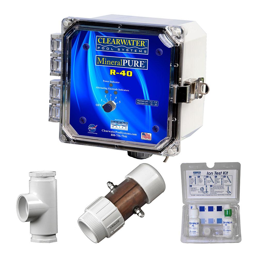 Mineral Pure 40,000 Gal. Residential Swimming Pool Ionizer