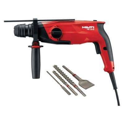 120-Volt SDS Plus Hammer Drill TE 3-C Performance Package