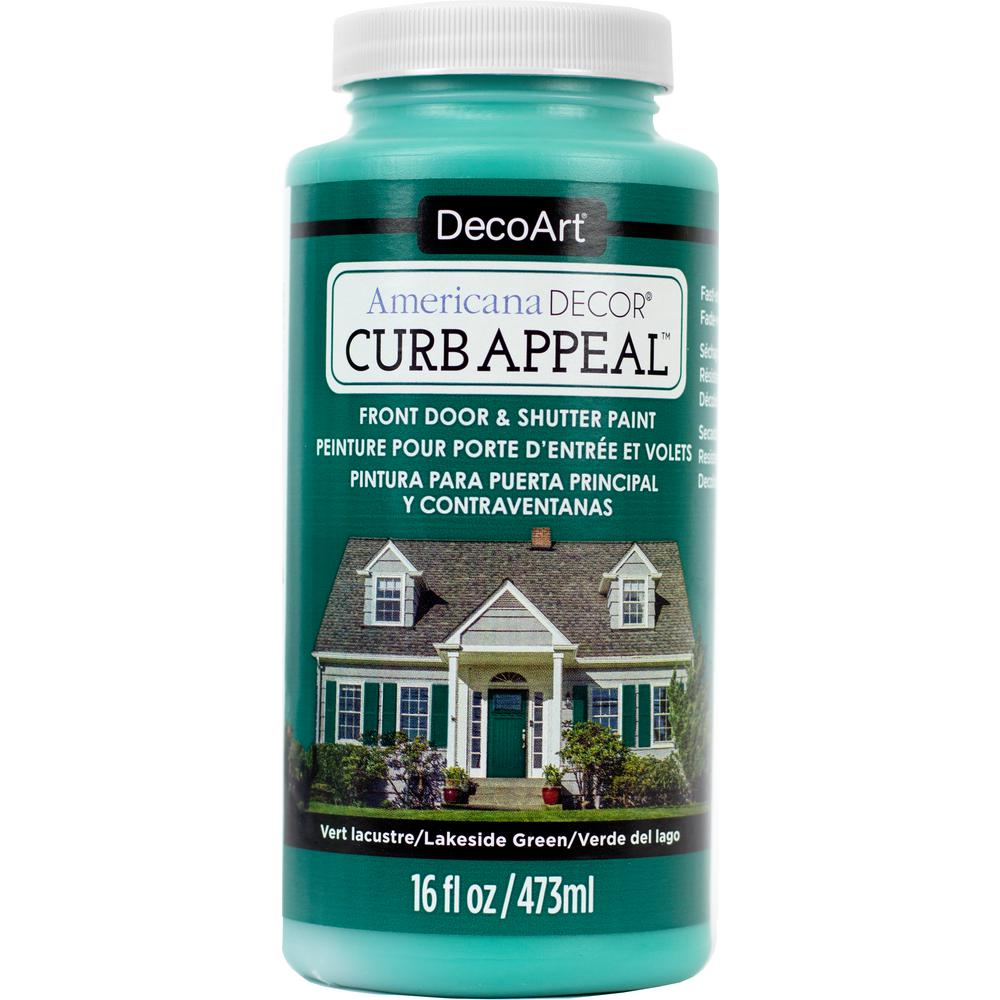 Americana Decor Curb Appeal 16 oz. Lakeside Green Paint