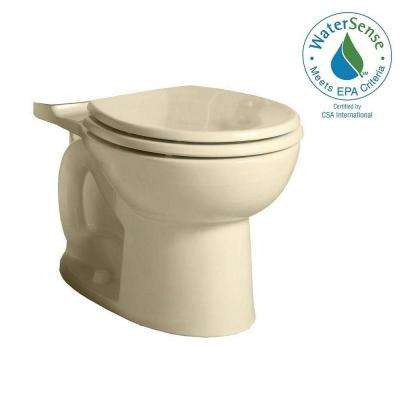 Cadet 3 FloWise Round Toilet Bowl Only in Bone