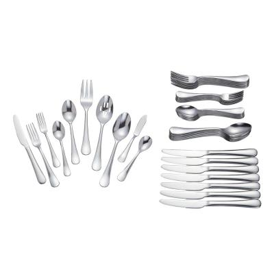 Maywood 45-Piece Stainless Steel Flatware Set (Service for 8)