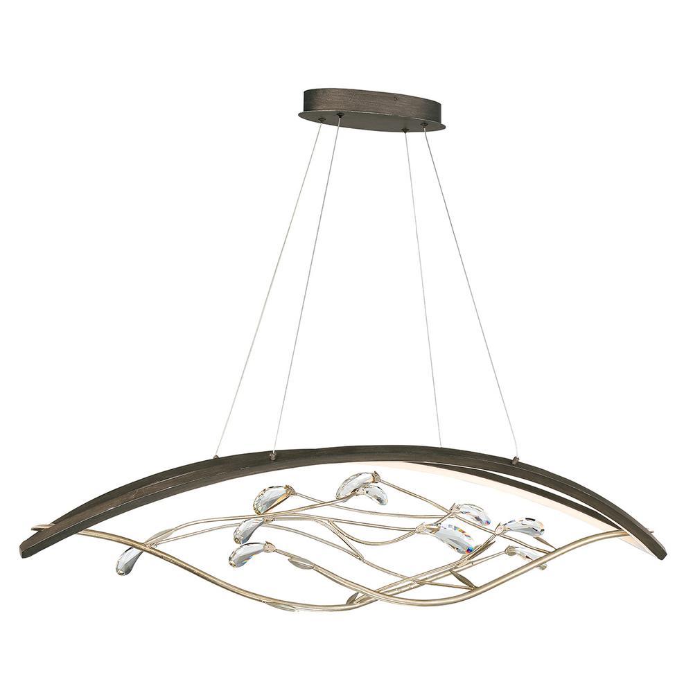 Basilica 56-Watt Oil Rubbed Bronze Integrated LED Chandelier