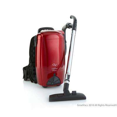 Battery Powered 8 Qt. Commercial BackPack Vacuum Cleaner