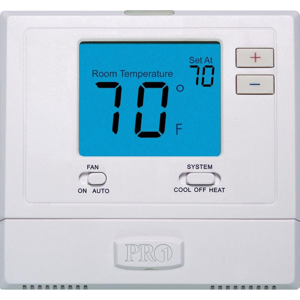 Pro 1 T701 Digital Non-Programmable Wall Thermostat with Backlight