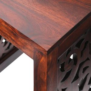 Exceptional +4. Home Decorators Collection Maharaja Walnut 2 Piece Nesting End Table