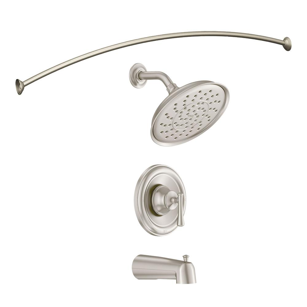 Glacier Bay Varina Single Handle 3 Spray Tub And Shower