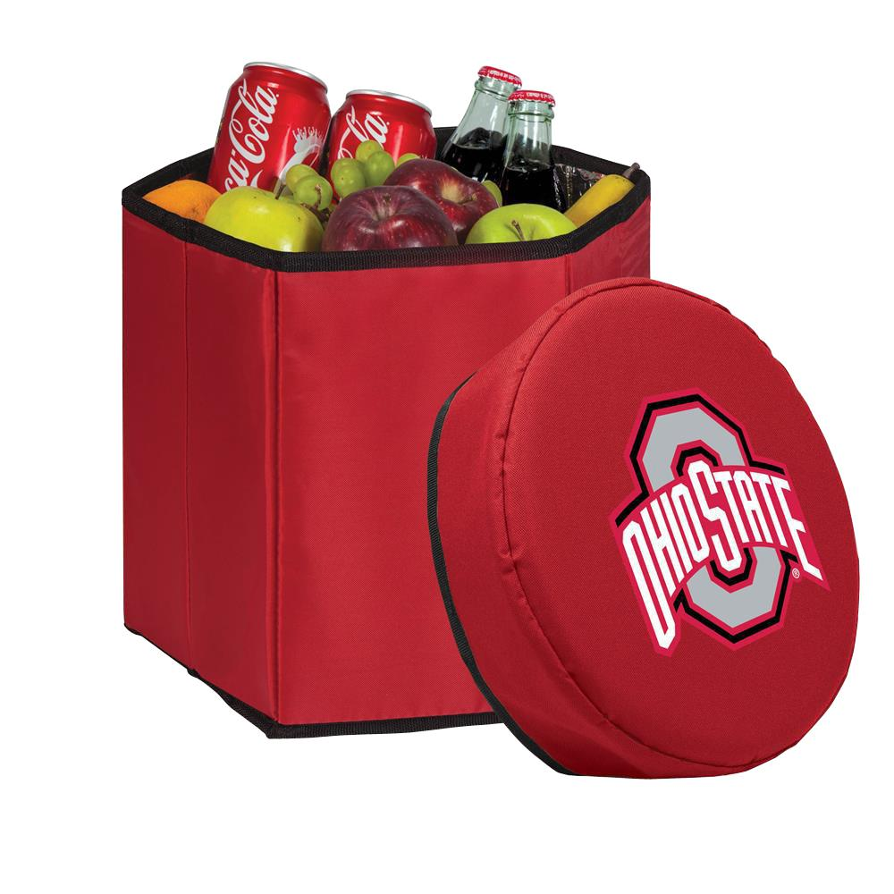 Picnic Time 12 Qt. Ohio State Buckeyes Red Bongo Cooler
