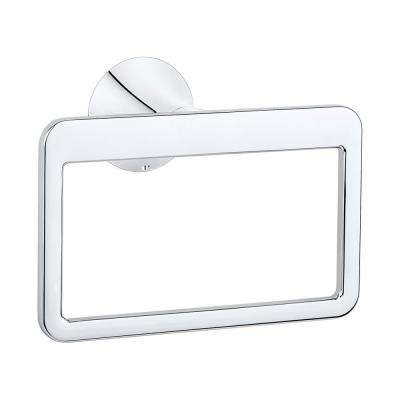 Brea Towel Ring in Polished Chrome