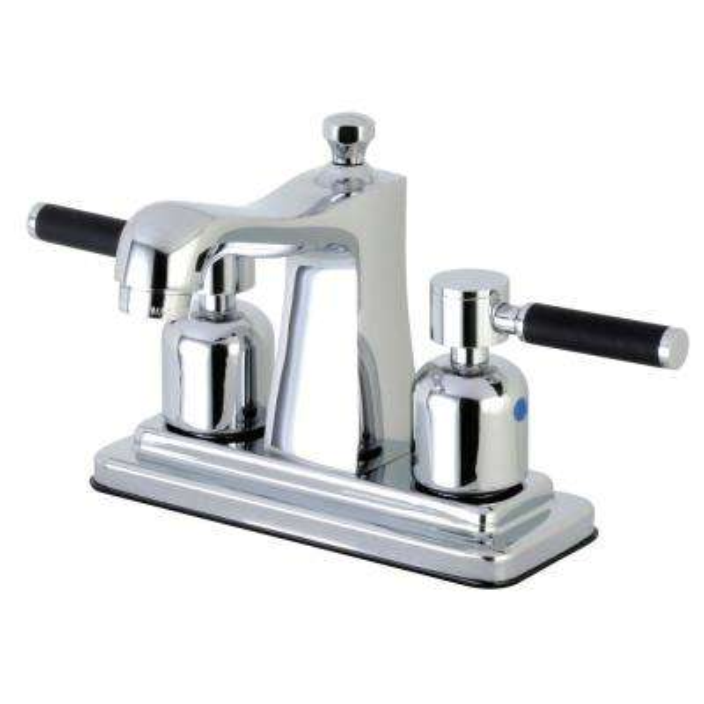 Kaiser 4 in. Centerset 2-Handle Bathroom Faucet in Chrome