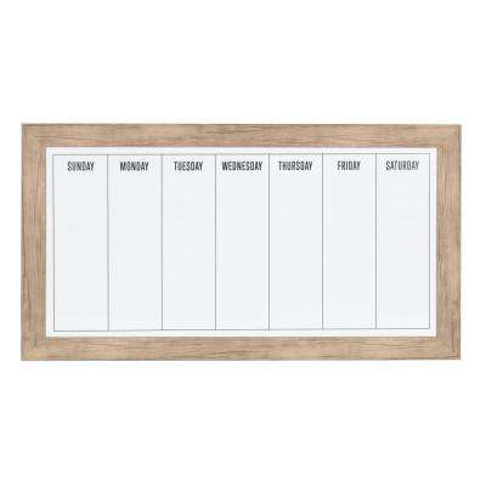 Beatrice Dry Erase Weekly Calendar Memo Board