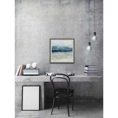 "32 in. H x 32 in. W ""Dark Waters"" by Marmont Hill Framed Wall Art"