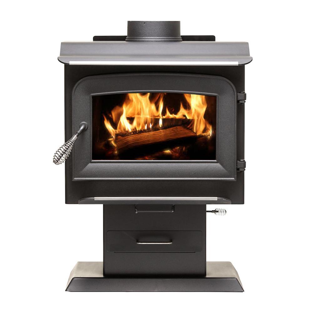 1,200 sq. ft. 2020 EPA Certified Wood-Burning Stove