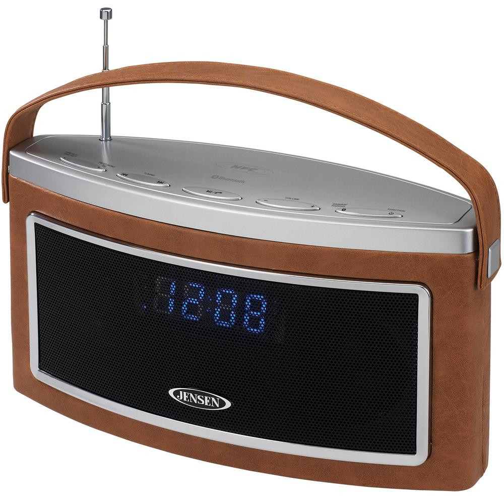 JENSEN Bluetooth Wireless Stereo Speaker With FM Radio
