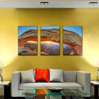 "20 in. x 42 in. ""Sunset Arch"" Printed Wall Art"