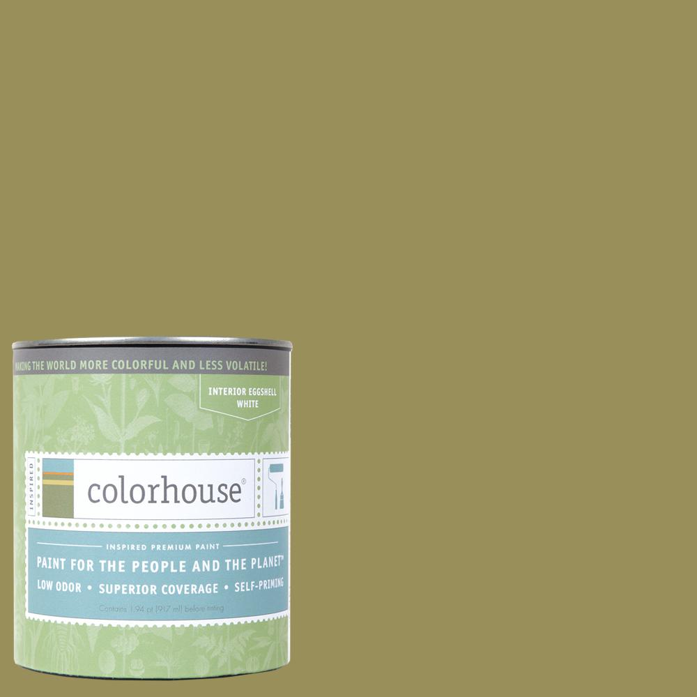 1 qt. Leaf .05 Eggshell Interior Paint