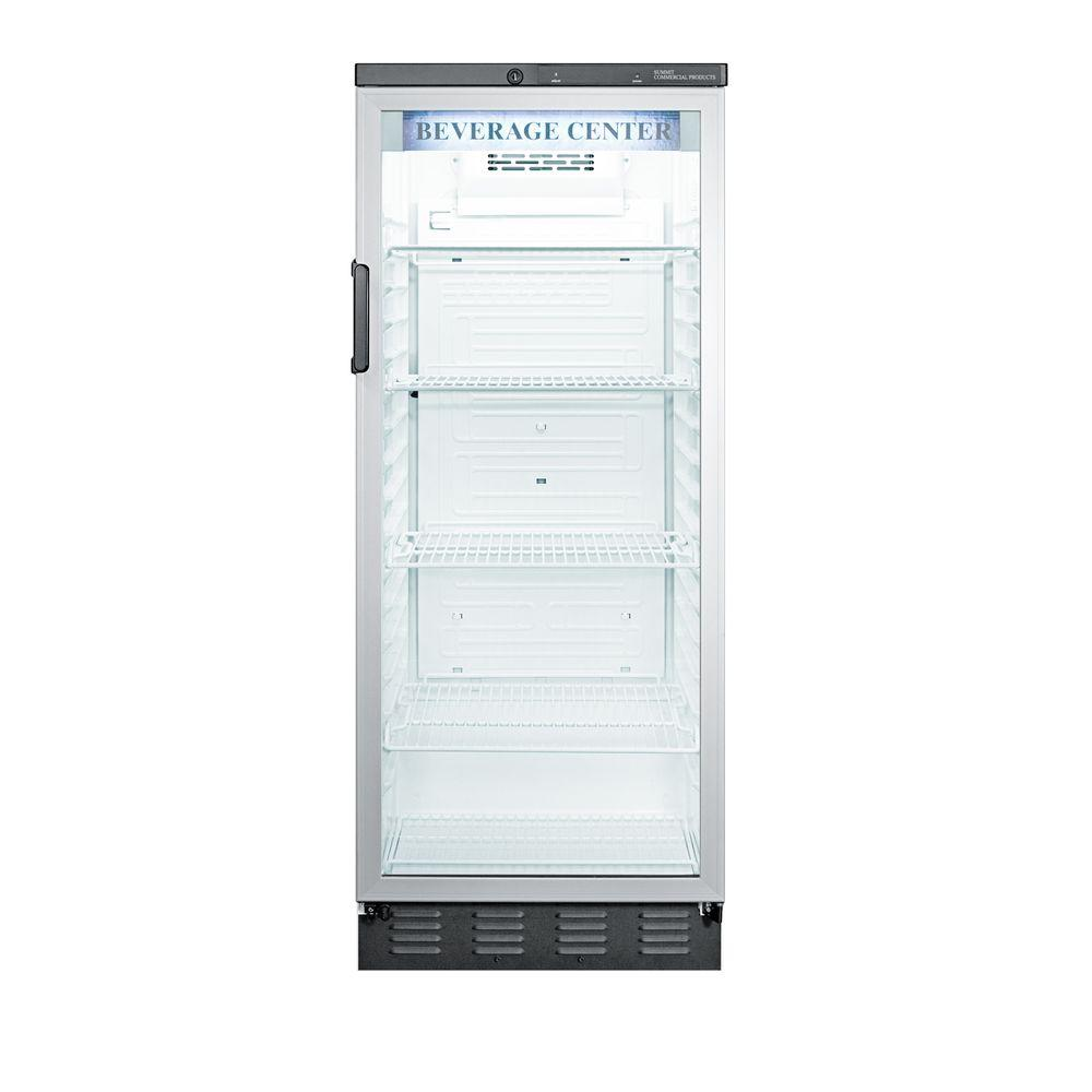 Summit Appliance Commercial 11.0 cu. ft. Glass Door All-Refrigerator in White