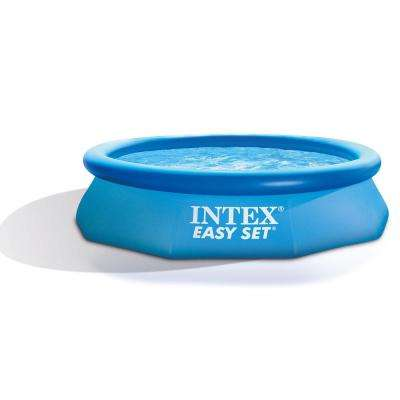 10 ft. x 30 in. Round Easy Set Inflatable Pool Set and Type H Filter Cartridge (6-Pack)