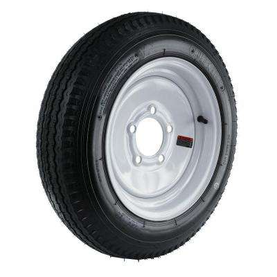 5.30-12 Load Range C 5-Hole Trailer Tire and Wheel Assembly