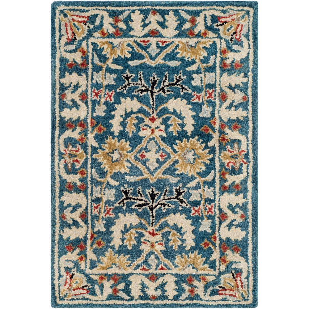 Antiquity Dark Blue/Multi 2 ft. x 3 ft. Area Rug