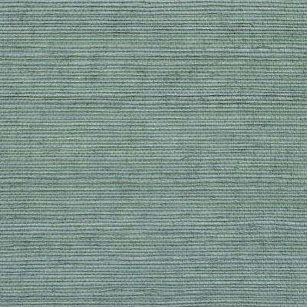 Wisteria Blue Grasscloth Wallpaper Sample