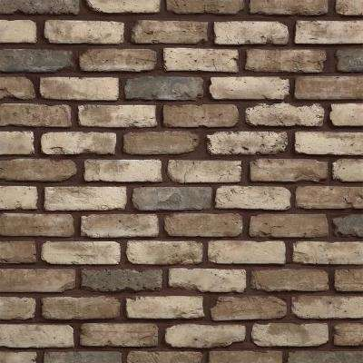 Old Chicago Cafe 7.08 in. x 2.50 in. Thin Brick 5.90 lin. ft. Corners Manufactured Stone Siding