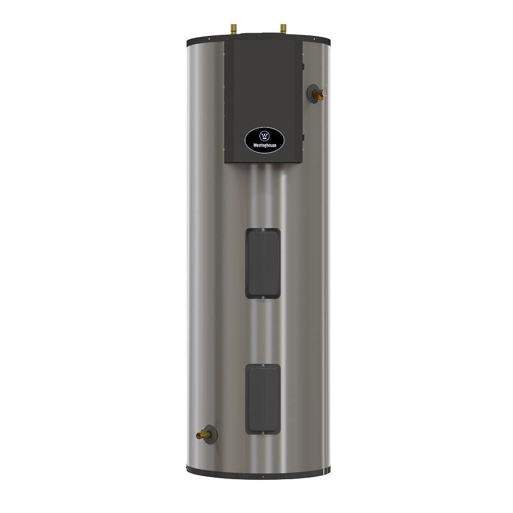 Lifetime 4500 Watt Electric Water Heater Durable Stainless Steel Tank 80 Gal