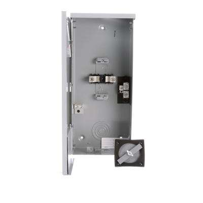 200 Amp 2-Space 4-Circuit Breaker Outdoor Small Load Center Enclosures