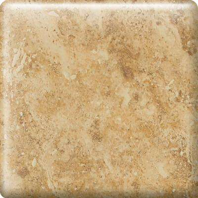 Heathland Amber 2 in. x 2 in. Glazed Ceramic Bullnose Corner Wall Tile