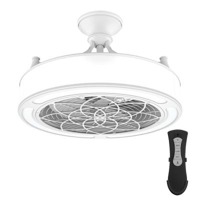 Anderson 22 in. LED Indoor/Outdoor White Ceiling Fan with Remote Control