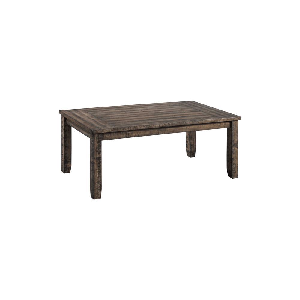 Flynn 3 Piece Dark Walnut Occasional Table Set