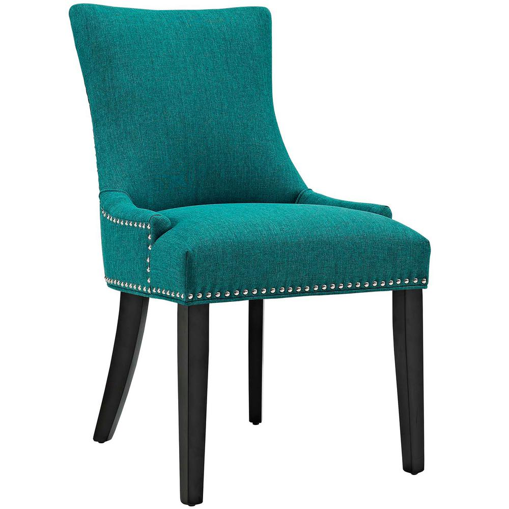 Marquis Teal Fabric Dining Chair