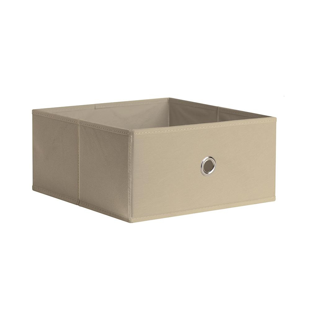 iCube Half Fabric Drawer 12.5 in. x 5.9 in. Sand Fabric Storage Bin  sc 1 st  Home Depot & iCube Half Fabric Drawer 12.5 in. x 5.9 in. Sand Fabric Storage Bin ...