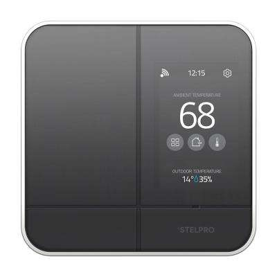 MAESTRO Smart Wi-Fi Programmable Controller-Thermostat for Electric Baseboard in Black