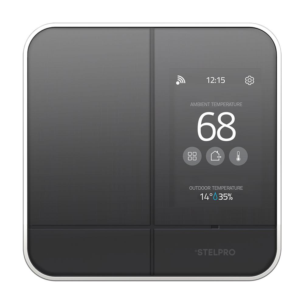 Stelpro MAESTRO Smart Wi-Fi Programmable Controller-Thermostat for Electric Baseboard in Black