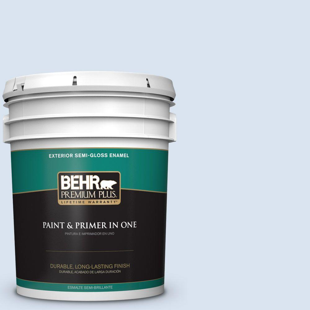 5-gal. #590C-2 Ocean Air Semi-Gloss Enamel Exterior Paint