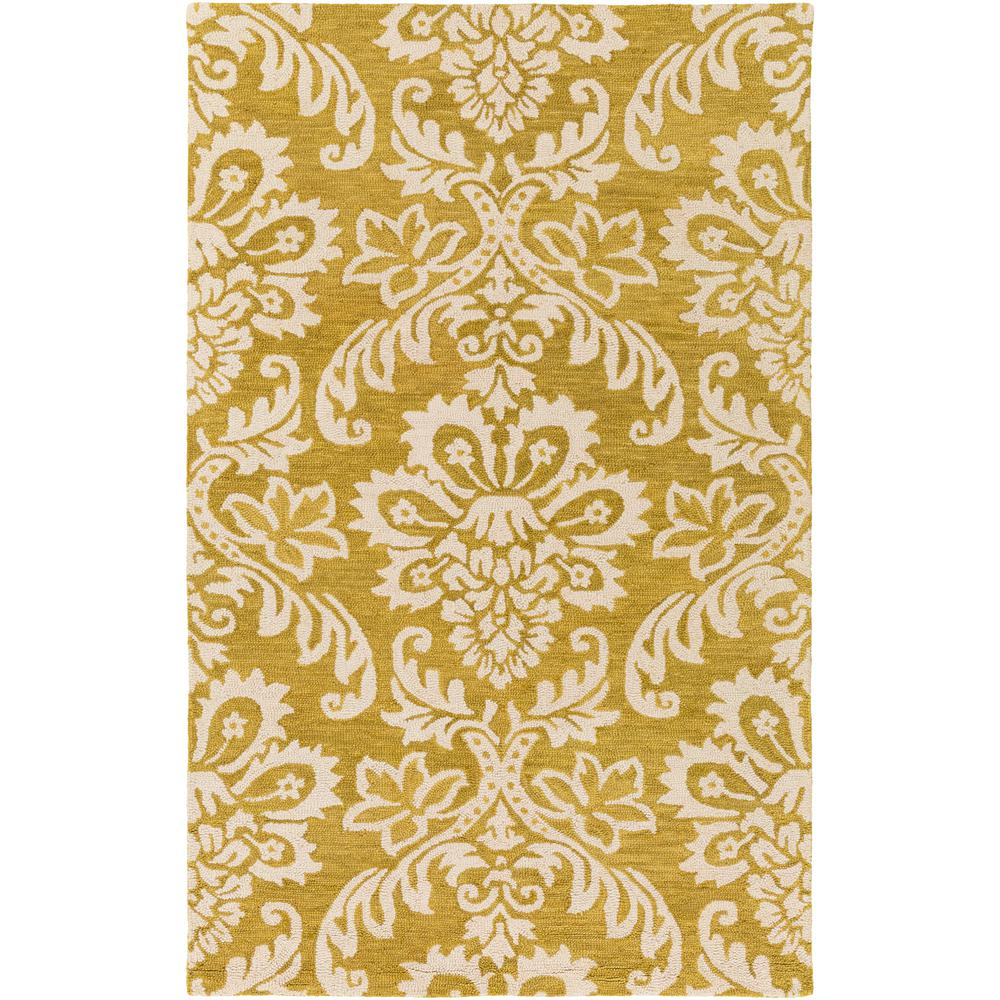 Rhodes Luna Gold 5 ft. x 8 ft. Indoor Area Rug