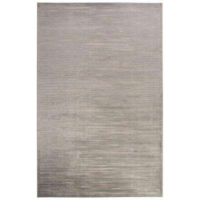 Machine Made Gray Violet 7 ft. 6 in. x 9 ft. 6 in. Abstract Area Rug